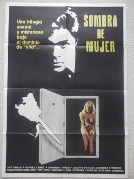 Surrogate, Original Argentinian Movie Poster, Art Hindle, Shannon Tweed, '84